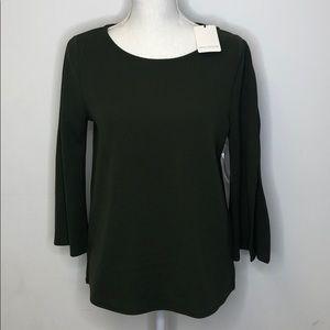 Green Envelope Medium Top Army Green Slit Sleeves